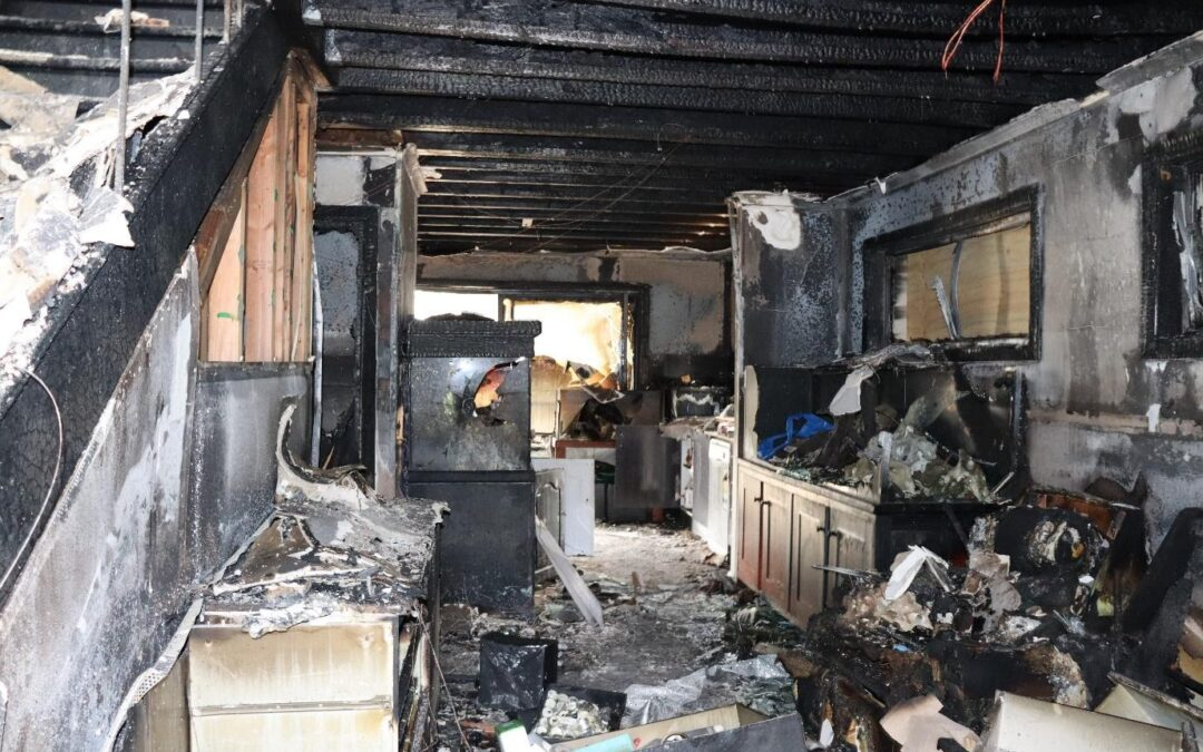 Fire and Smoke Damage – Why it's important to act fast